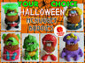 LOOSE McDonald's 1996 McNUGGET BUDDIES Halloween NUGGET Buddy YOUR TOY CHOICE