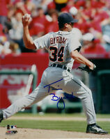 TIM BYRDAK SIGNED DETROIT TIGERS 8 x10 PHOTO AUTO