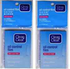 2 x Clean and Clear Oil Control Face Film Blotting Paper