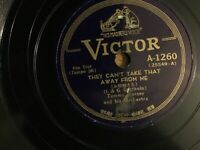 TOMMY DORSEY & HIS ORCH.-THEY CAN'T TAKE THAT AWAY FROM ME-78-VICTOR A 1260.