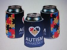 12 AUTISM AWARENESS SODA CAN COVERS Beer Holders INSULATORS koozie coozie April