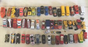 Vintage Lot Of 54 Hot Wheels, Matchbox, Classic car, Etc. Die Cast Cars 1980's