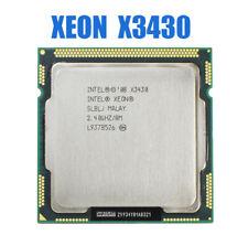 Intel Xeon X3430 CPU Quad Core 2.4GHz LGA1156 8M 4 Cores Cache 95W Desktop CPU