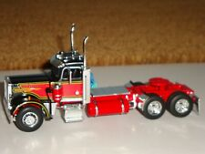 1/64 DCP BLACK & RED 359 PETERBILT DAYCAB