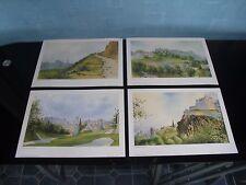 Vintage Edinburgh Prints