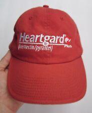 HEARTGARD PLUS IVERMECTIN/PYRANTEL SALMON HAT CAP, VETERINARIAN, DOGS, PROMO, EX