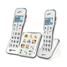 Seniorentelefon Geemarc AMPLIDECT595-2 PHOTO Hörverstärkung Foto Tasten , AB ,