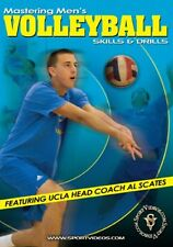 Mastering Men's Volleyball: Skills and Drills DVD for Coaches or Players