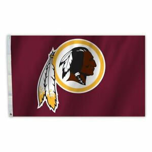 WASHINGTON REDSKINS NFL 3 X 5 PREMIUM FLAG  GROMMETS NEW $40