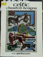 Celtic Charted Designs by Co Spinhoven (1987, Paperback)