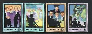 AUSTRALIA MNH 1991 SG1295-98 AUSTRALIAN RADIO BROADCASTING SET OF 4