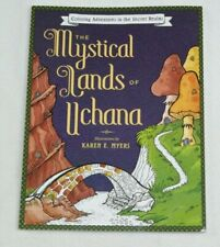 MYSTICAL LANDS OF UCHANA ADULT COLORING BOOK SECRET REALM ADVENTURES ART THERAPY