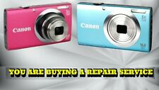 CANON A2300 OR A2400 is REPAIR SERVICE FOR YOUR CAMERA W/60 DAY WARRANTY