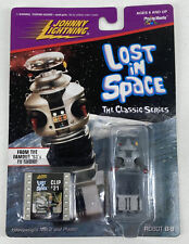 New listing Robot B-9 Johnny Lightning Lost in Space Action Figure Clip #21 - Free Shipping