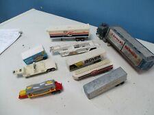 lot corgi matchbox trailers
