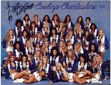 DALLAS COWBOYS CHEEDLEARDERS 1994 / 1995 Group Photo w/ signatures - Great Cond!