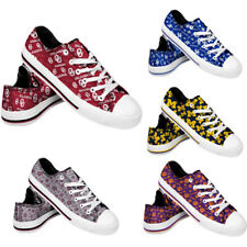 NCAA Women's Low Top Repeat Canvas Shoes