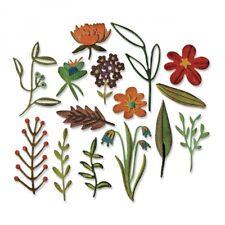 Sizzix Thinlits- Tim Holtz Funky Flowers no 2  Set of 15 dies  *** NEW***