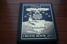 USS John C. Stennis 2009 Deployment Cruise Log Book CVN 74 CruiseBook Cornelius