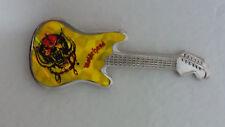 Motorhead Snaggletooth guitar shape Vintage metal logo music badge 2