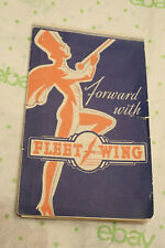 Old Auto Advertising AUTOMOTIVE SERVICE FLEETWING READING BATTERIES McCREARY PA