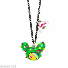 Neon Star by Tokidoki Sandy Girl's Pendant Necklace Green Cactus Friend New