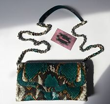 "NUOVO Lusso Genuine Python Leather Clutch ""melissita"""
