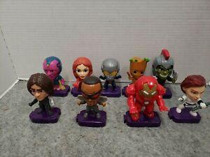 COMPLETE SET! 2020 McDonalds Marvel Studios Heroes Avengers Happy Meal Toys
