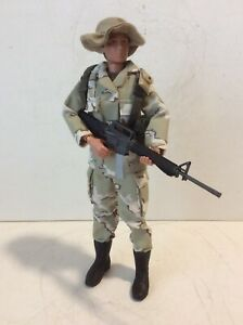 "GI Joe Custom 12"" Tripwire Toys Modern Desert Camo Soldier GI Jane Mint Great"