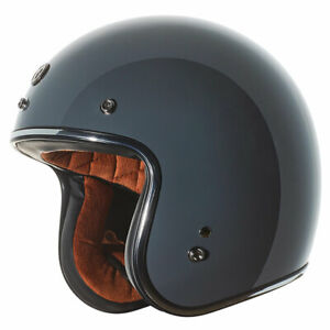 Torc T-50 ECE Gloss Grey Motorcycle Motorbike Helmet