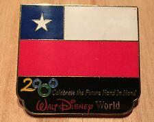 Millennium Village WDW Flag Pin Chile Pavilion 2000 Disney Pin