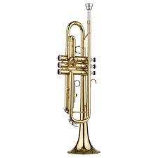 Phantastische Trompete Bb Messing für Anfänger mit Koffer Mundstück K5Q7