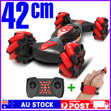 Gesture Sensing Remote Control RC Stunt Car Off Road Double Sided 4WD Flip Toy