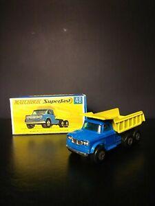 Matchbox Superfast #48A Dodge, Dumper Truck VNM IN Box