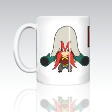 Yosemite Sam  BACK OFF ( Big Letters)  11oz Ceramic Coffee Mug