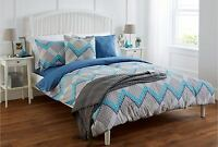 COMPLETE BEDDING SET SUPREME - Duvet Quilt Bed Cover, Pillow Case Fitted Sheet