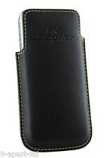 NUOVO ORIGINALE PORSCHE AUTISTI SELEZIONE pelle iPhone 5 5S 918 Spyder CUSTODIA
