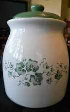 LQQK - Corelle  CALLAWAY COOKIE JAR - EXCELLENT USED CONDITION