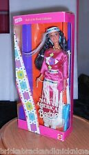 "Native American Barbie Doll ""3Rd Ed."" 1994 Dolls Of The World, Displayed In Box!"