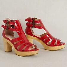 Marais USA Cherry Clog Heels $244 Sold  ANTHROPOLOGIE US size 9