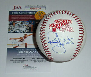 BREWERS Robin Yount signed 1982 World Series baseball JSA COA AUTO Autographed