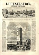"Journal ""L'ILLUSTRATION"" 1856  n°   673 INDOCHINE; SIROP ERABLE;..."