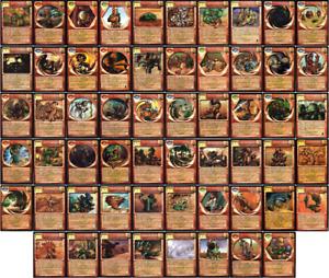 You Pick - d'Resh - Magi Nation Duel (MND) TCG/CCG Cards - Rare/Uncommon/Common