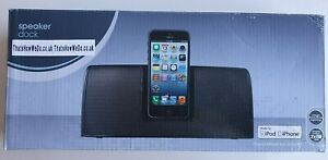 Ipod & Iphone Lightning Speaker Dock for Home Office or Garage UK Plug- NEW Gen