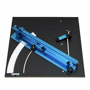 POWERTEC 71403 Table Saw Cross Cutting Sled Woodworking Jig and Hardware Kit ...