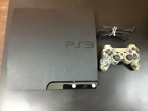 PlayStation 3 120Gb console with powercord and 1 controller