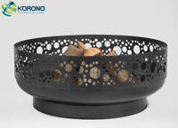 Korono Motive Feuerschale mit einem Durchmesser von 80cm, Handmade
