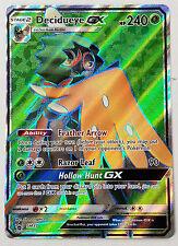 Pokemon Decidueye GX SM37 Black Star Promo Card (Normal/Standard Size)