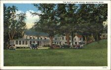 Washington Ma Maple View House c1920 Postcard