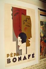 JEAN CARLU Pepa Bonafe Original Art Deco Poster 1928